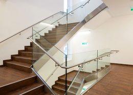 Metallbau in Architektur & Design - Stiegengeländer